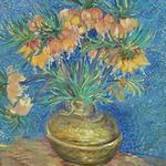 'Crown Imperials in a Copper-vase' by Vincent Van Gogh