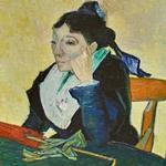 'L'Arlésienne (Portrait of Madame Ginoux)' by Vincent van Gogh