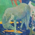 'The White Horse' by Paul Gauguin