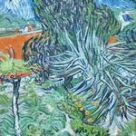 'Doctor Gachet's Garden in Auvers' by Vincent van Gogh