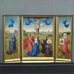 'Triptych: The Crucifixion' by Rogier van der Weyden (StreetView)