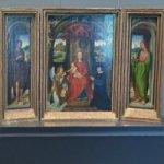 'Small Triptych of St. John the Baptist' by Hans Memling