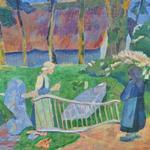 'La barrière fleurie, Le Pouldu' by Paul Sérusier