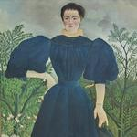 'Portrait of Madame M;' by Henri Rousseau, known as le Douanier