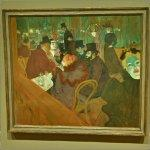 'At the Moulin Rouge' by Henri de Toulouse-Lautrec