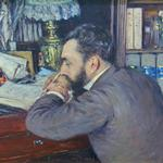 'Henri Cordier' by Gustave Caillebotte