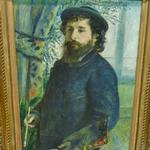 'Claude Monet' by Auguste Renoir