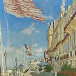 'Hôtel Des Roches Noires. Trouville' by Claude Monet