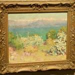 'In The Morning, Alpes Maritimes From Antibes' by John Russell