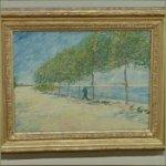 'By the Seine' by Vincent van Gogh