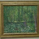 'Trees And Undergrowth' by Vincent van Gogh