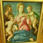 'The Holy Family with the Infant Saint John the Baptist (Madonna Stroganoff)' by Agnolo Bronzino