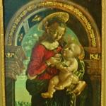 'Madonna and Child inside an arch' by Bernardino Butinone (follower (?) of) (StreetView)