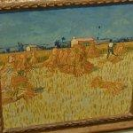 """Corn Harvest in Provence"" by Vincent Van Gogh (StreetView)"