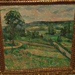 """The Tree by the Bend"" by Paul Cezanne"
