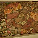 """Krumau - Crescent of Houses (The Small City V)"" by Egon Schiele"