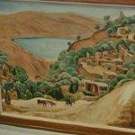 """Tiberias Landscape "" by Nahum Gutman"