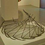 """Swing of the Scythe Sculpture"" by Efrat Natan"