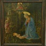 'The Adoration in the Fores't by Filippo Lippi