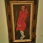 """Young Girl in Red"" by Chaim Soutine (StreetView)"