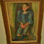 """Boy in Blue "" by Chaim Soutine (StreetView)"