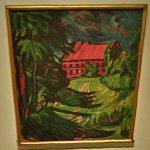 """The Red House"" by Max Pechstein"