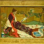 'Caprice in Purple and Gold: The Golden Screen' by James McNeill Whistler (StreetView)