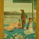 'Variations in Flesh Colour and Green - The Balcony' by James McNeill Whistler