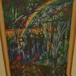 """""""Rayonist Garden: Park"""" by Natalia Goncharova"""