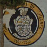 Ciudad Juárez crest mural