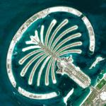 The Palm Jumeirah (Google Maps)