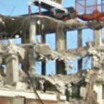 Demolition of a building (StreetView)