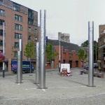 'Stainless Steel Columns' by David Mackie, Andrew Rowe and Heather Parnell (StreetView)