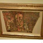 """Portrait of Marcel Duchamp"" by Elsa von Freytag-Loringhoven"