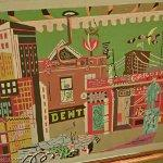 """New York Under Gaslight"" by Stuart Davis"