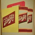 """Schlitz Cans"" by Andy Warhol"