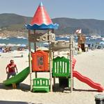 Playground on the beach (StreetView)