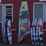 windsurf boards and sail