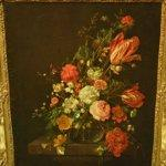 """Flowers in a Glass Bowl"" by Cornelis de Heem"