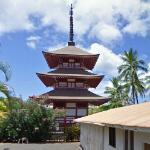Lahaina Jodo Mission pagoda