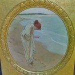 """The sea hath its pearls"" By William Henry Margetson"