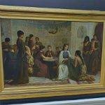 """A Dorcas meeting in the 6th century"" by Edwin Long (StreetView)"