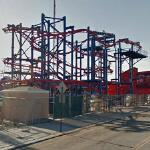Coney Island rollercoaster (StreetView)