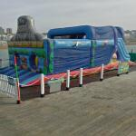 'Skull Island' inflatable 'Assault Course'