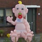 Big Inflatable Baby (StreetView)