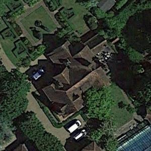 Brad Pitt and Angelina Jolie's House (Google Maps)