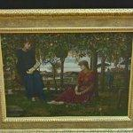 """A story book"" by John Melhuish Strudwick (StreetView)"