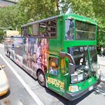 Korean Party Bus in NYC (StreetView)