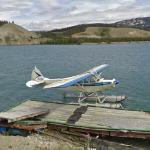Dock at Whitehorse Water Aerodrome (StreetView)