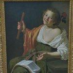 """Girl with a flute"" by Jan van Bijlert"